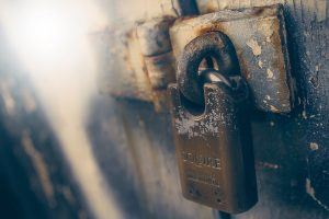 Lock on door - Bede Griffiths Sangha Privacy Policy